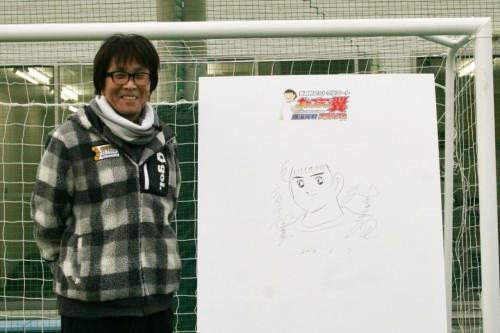 翼スタジアムが横浜元町にオープン…『キャプ翼』作者高橋氏も登場