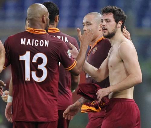 ユーヴェを追う2位ローマ、サンプドリアに快勝…デストロが2得点