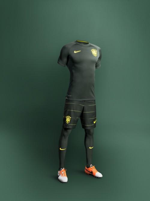 ナイキがブラジル代表チームのサードユニフォームを発表