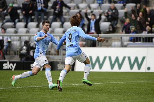 移籍3試合で2ゴール目の大迫勇也「得点は全てがイメージ通り」