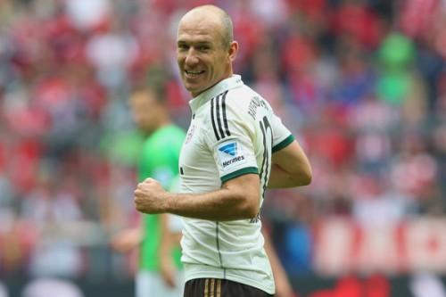 バイエルンでの現役引退を望むロッベン「最後のクラブになる」