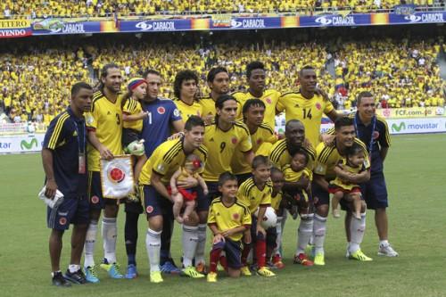 W杯で日本と対戦のコロンビア代表、親善試合に向けてメンバー発表