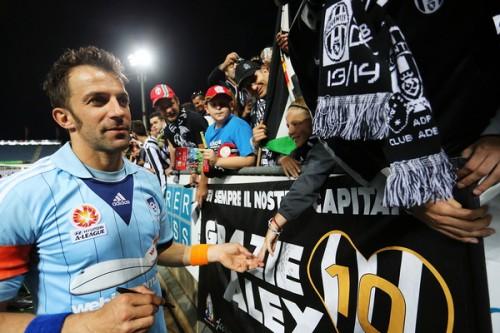 シドニーFC、デル・ピエロにプレイングマネージャー就任をオファーか