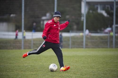 長谷部、復帰に向けて順調に回復…11日もボールを使った練習を実施