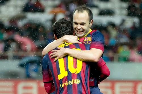 バルセロナMFイニエスタ「3チームの優勝争いはファンにとって良いこと」