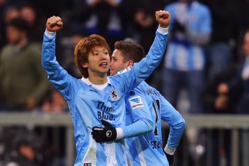独2部デビュー戦でゴールの大迫勇也「もっともっと成長できる」