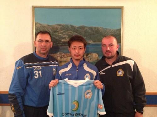 モンテネグロ2部で活躍した大谷壮馬、ボスニア1部への移籍が決定