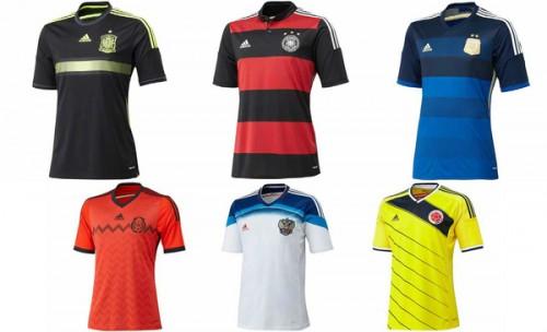 スペインやアルゼンチンなどのユニが発表…ブラジルW杯で着用