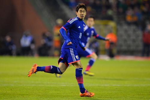 日本代表MF香川真司が夢への思いを告白「努力し続ければ必ず叶う」