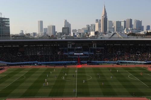 """""""聖地""""国立でのサッカーは残り4試合…最終戦は5月の甲府対浦和"""