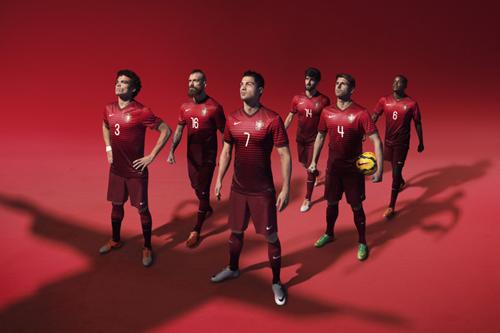 ポルトガル代表、連盟100周年記念となる新ユニフォームが発表
