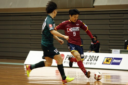 興奮の大阪会場、神戸とすみだ、大阪とセグンドが引き分け/PUMA CUP 2014