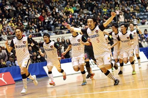 退任する3位浦安の岡山監督「幸せだった。悔いはない」/PUMA CUP 2014