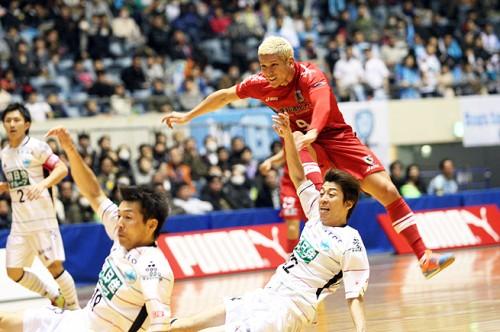 加速する名古屋1強の現状。森岡があえて口にした「刺激が足りない」/PUMA CUP 2014