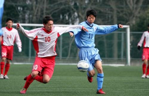 ジャパンユーススーパーリーグで見せた流経新チームの10番・キャプテン相澤祥太