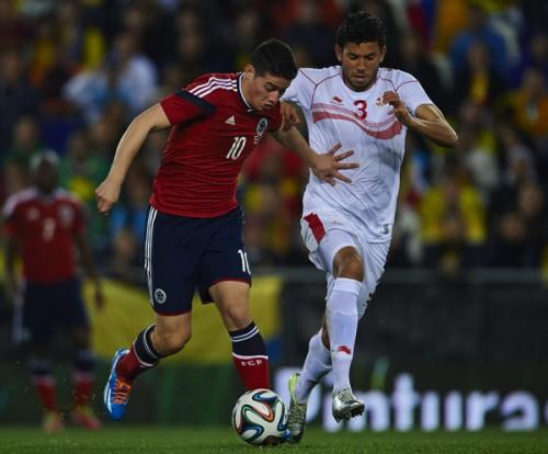 ブラジルW杯で日本と同組のコロンビア、エース欠いた一戦はドロー