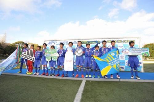 横河武蔵野FCジュニアがブラジル行きをつかむ!