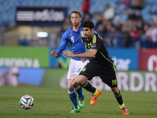 スペインがイタリアに勝利…D・コスタが代表デビューを果たす