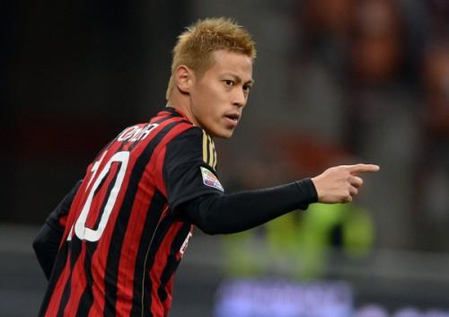 ミラン本田、代表戦から中2日で2試合ぶり先発へ…トップ下起用か