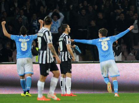 ユヴェントスがアウェーでナポリに完封負け…今季リーグ戦2敗目