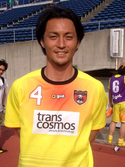 和歌山の永井雄一郎がFC大阪戦で2得点に絡む活躍「優勝を目指したい」