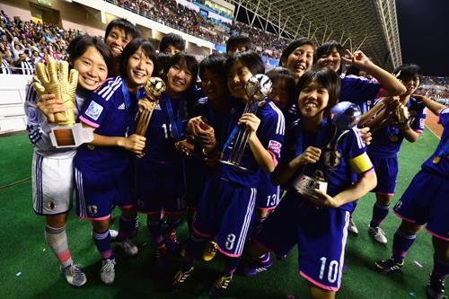 U-17女子W杯初優勝のリトルなでしこ、フェアプレー賞も受賞