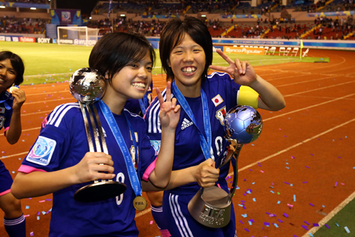 U-17女子W杯で日本の杉田妃和が大会MVPを獲得