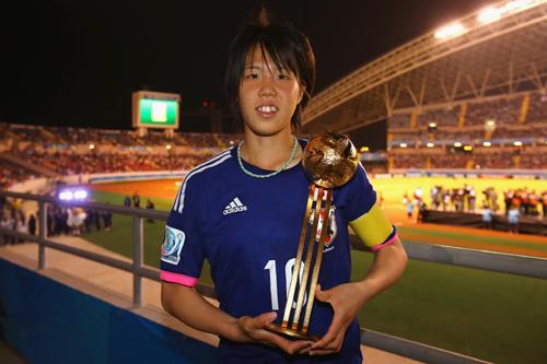 U-17女子W杯でMVPの杉田妃和「夢の中を生きているよう」