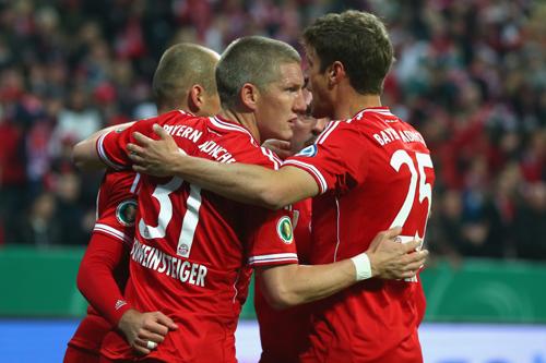王者バイエルンが大勝でドイツ杯決勝進出…ドルトムントと激突へ