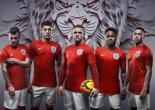 1966年の世界一を想起させるレッド…ナイキがイングランド代表の新アウェーユニ発表