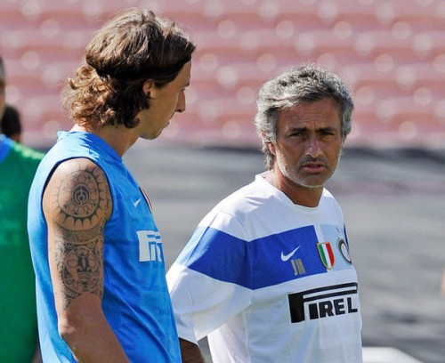 モウリーニョがイブラに言及「監督にとってはありがたい選手」