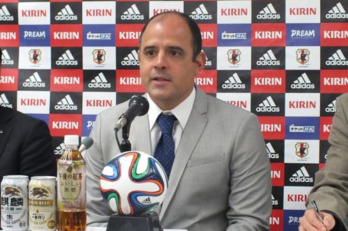 ビーチ代表のM・メンデス新監督「日本を世界の頂点に上げたい」