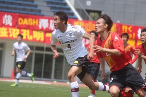 名古屋U18吹ヶと神戸ユース藤谷がプレミアで魅せた熱いライバル対決
