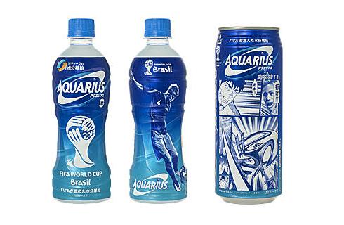 アクエリアスのパッケージで本田圭佑が漫画に…W杯限定デザインが発売