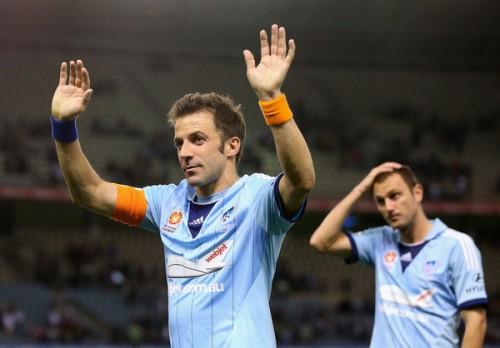 デル・ピエロがシドニーFC退団を発表「チャオ、オーストラリア」