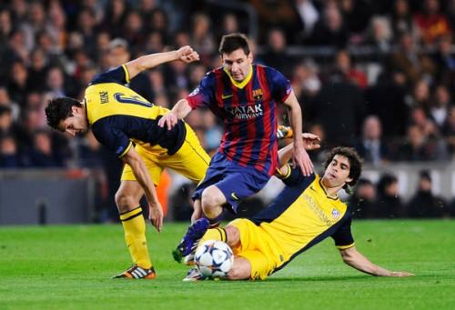 CLスペイン対決初戦はドロー…ホームで先制許すもバルセロナが追いつく