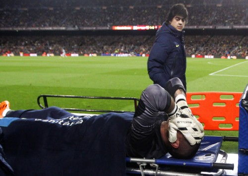 じん帯損傷のバルセロナGKバルデス、全治7カ月でW杯欠場へ