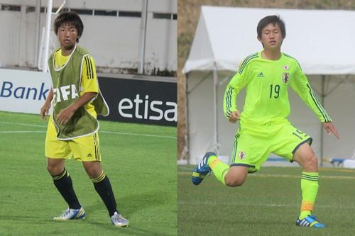 W杯メンバーに帯同する東京五輪世代の高校生2名、坂井と杉森はどんな選手か