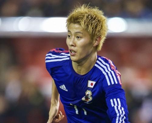 W杯に臨む柿谷曜一朗が抱負「日本のサッカーをアピールしたい」