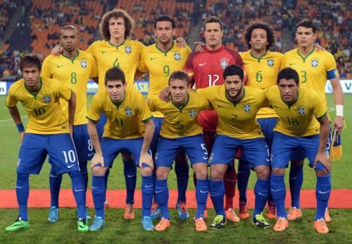 W杯直前のFIFAランクで開催国ブラジルが4位浮上