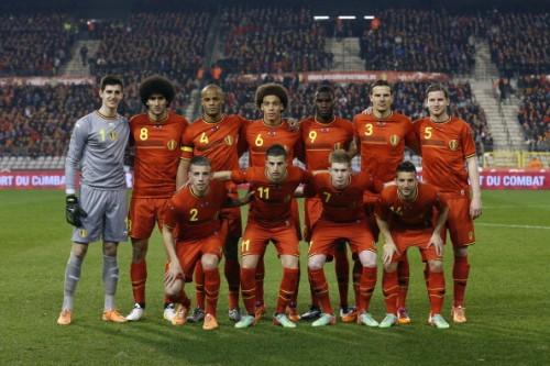 ベルギー代表が背番号を発表…10番はアザール、ヤヌザイは20番を着用