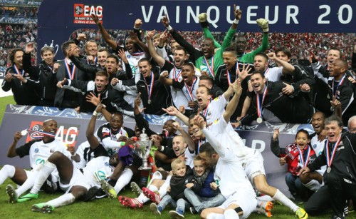 ギャンガンが2度目のフランス杯制覇…決勝でレンヌに快勝