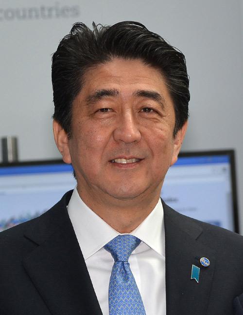 安倍晋三首相が日本代表に期待「世界レベルの力を発揮して欲しい」
