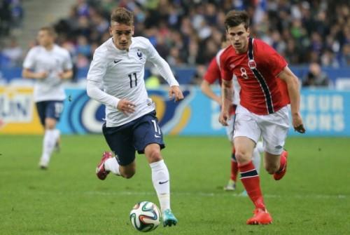 フランス代表の新鋭グリーズマン「数分でもチャンスを与えられたらベストを尽くす」