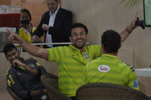 ブラジル代表、専用合宿施設グランジャ・コマリーに到着