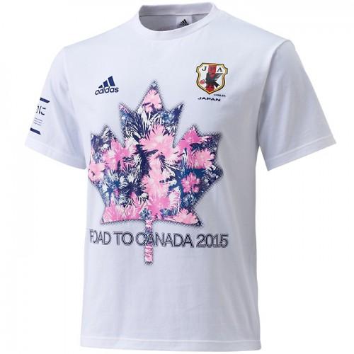 W杯カナダ大会出場決定のなでしこ、アディダスが記念Tシャツ販売