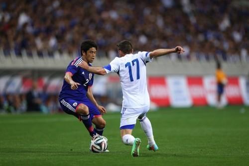 日本代表ファン約8800人が選ぶキプロス戦のMOMは復帰戦でゴールの内田