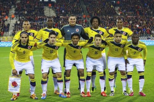 W杯で日本と同組のコロンビアが壮行会を開催、ファルカオは不参加