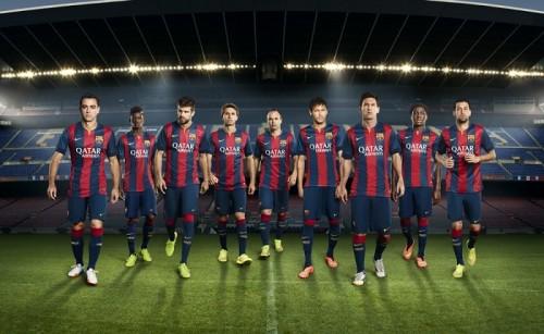 バルセロナ、2014-15シーズンの新ユニフォームを発表
