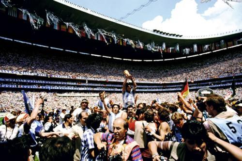 「アルゼンチン代表 逆転の瞬間」1986年 メキシコ大会 CHAMPION/ARGENTINA